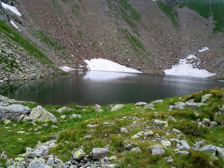 Foto: Andreas Koller / Wander Tour / Über den Gefrorenen See zum Dreistecken-Grat (2449 m) / Beim Gefrorenen See / 07.08.2009 16:51:47