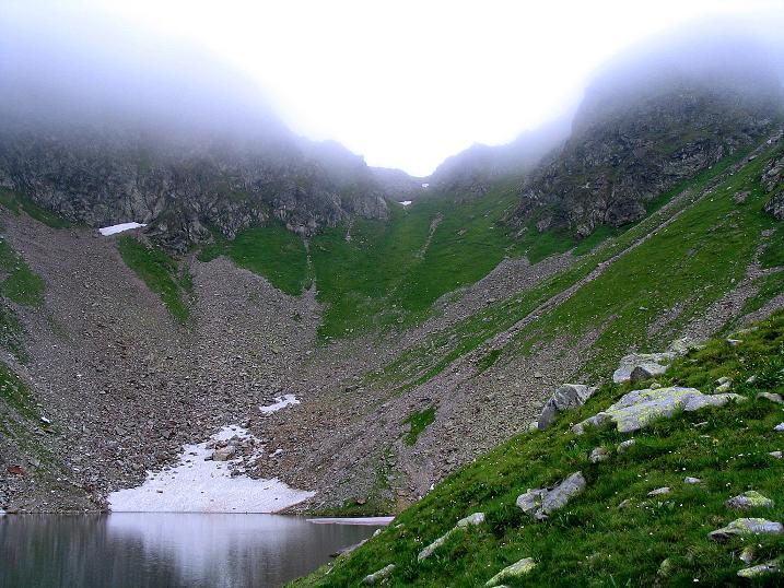 Foto: Andreas Koller / Wander Tour / Über den Gefrorenen See zum Dreistecken-Grat (2449 m) / 07.08.2009 16:51:26
