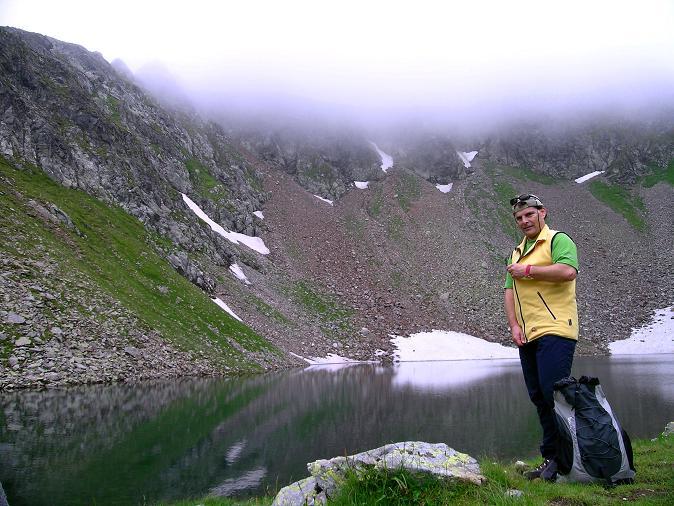 Foto: Andreas Koller / Wander Tour / Über den Gefrorenen See zum Dreistecken-Grat (2449 m) / 07.08.2009 16:51:15