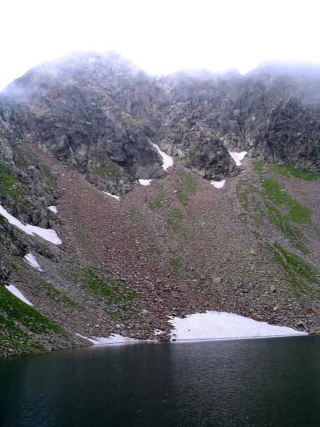 Foto: Andreas Koller / Wander Tour / Über den Gefrorenen See zum Dreistecken-Grat (2449 m) / 07.08.2009 16:50:45