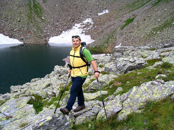 Foto: Andreas Koller / Wander Tour / Über den Gefrorenen See zum Dreistecken-Grat (2449 m) / 07.08.2009 16:50:26