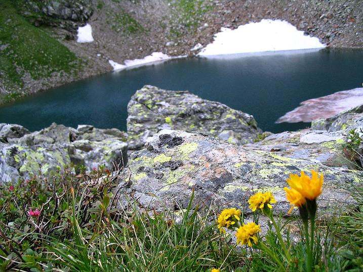 Foto: Andreas Koller / Wander Tour / Über den Gefrorenen See zum Dreistecken-Grat (2449 m) / 07.08.2009 16:50:16