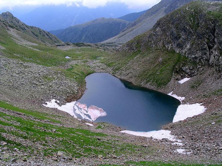 Foto: Andreas Koller / Wander Tour / Über den Gefrorenen See zum Dreistecken-Grat (2449 m) / Gefrorener See / 07.08.2009 16:50:00
