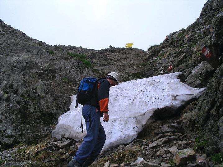 Foto: Andreas Koller / Wander Tour / Über den Gefrorenen See zum Dreistecken-Grat (2449 m) / 07.08.2009 16:49:07