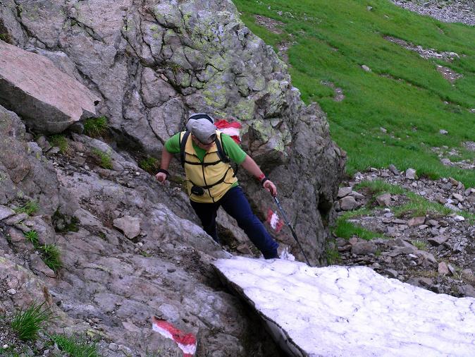 Foto: Andreas Koller / Wander Tour / Über den Gefrorenen See zum Dreistecken-Grat (2449 m) / 07.08.2009 16:48:59