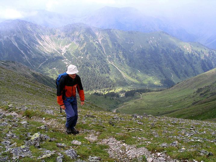 Foto: Andreas Koller / Wander Tour / Über den Gefrorenen See zum Dreistecken-Grat (2449 m) / 07.08.2009 16:48:38
