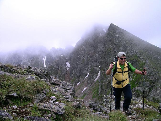 Foto: Andreas Koller / Wander Tour / Über den Gefrorenen See zum Dreistecken-Grat (2449 m) / Aufstieg zum Dreistecken / 07.08.2009 16:48:28