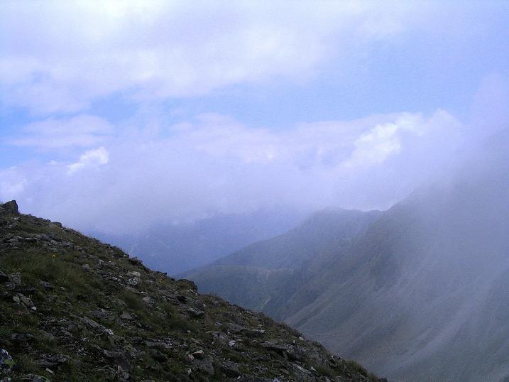 Foto: Andreas Koller / Wander Tour / Über den Gefrorenen See zum Dreistecken-Grat (2449 m) / 07.08.2009 16:46:45