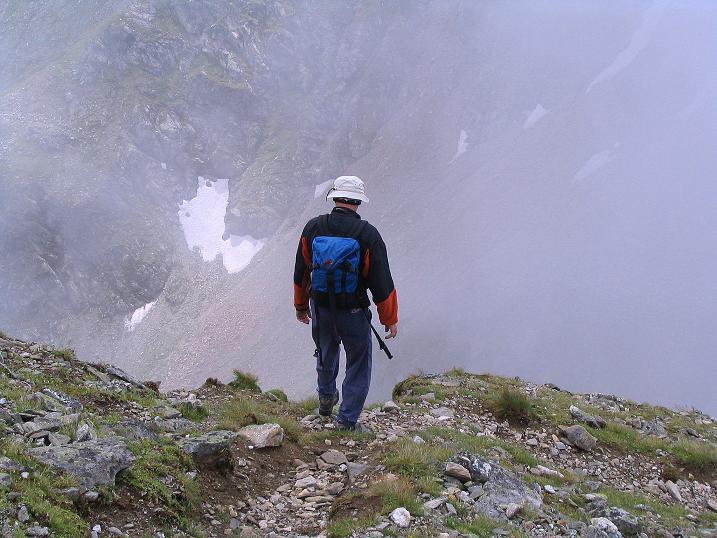 Foto: Andreas Koller / Wander Tour / Über den Gefrorenen See zum Dreistecken-Grat (2449 m) / 07.08.2009 16:46:29