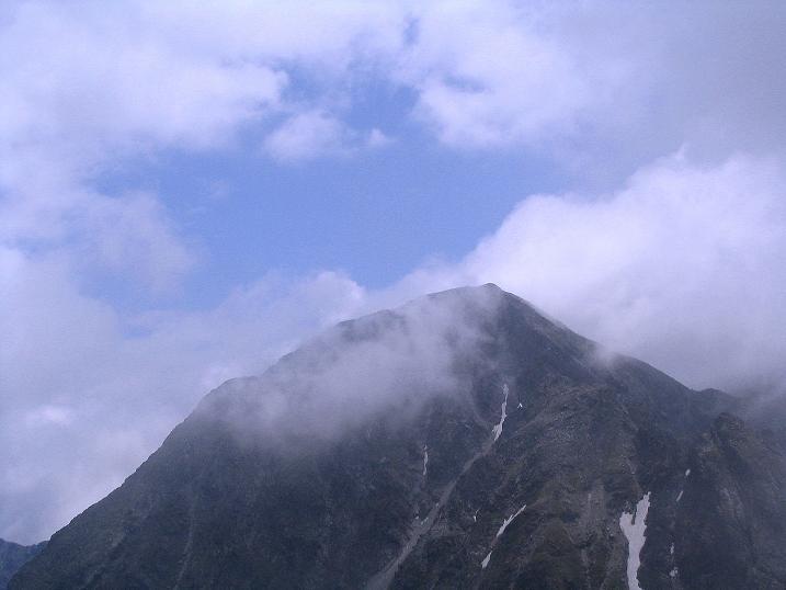 Foto: Andreas Koller / Wander Tour / Über den Gefrorenen See zum Dreistecken-Grat (2449 m) / Der Große Bösenstein zeigt sich / 07.08.2009 16:46:19