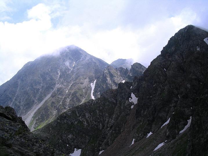 Foto: Andreas Koller / Wander Tour / Über den Gefrorenen See zum Dreistecken-Grat (2449 m) / 07.08.2009 16:45:47