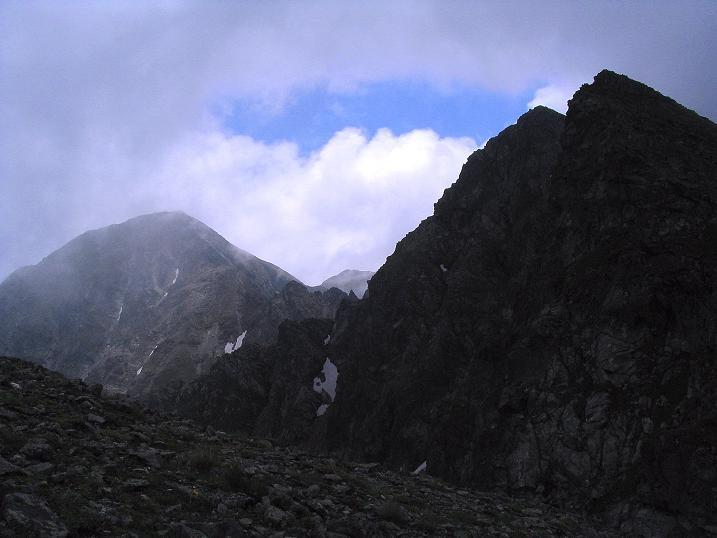 Foto: Andreas Koller / Wander Tour / Über den Gefrorenen See zum Dreistecken-Grat (2449 m) / 07.08.2009 16:45:37