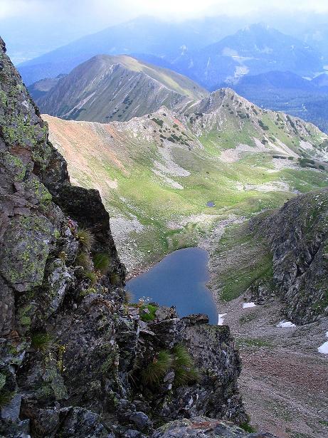 Foto: Andreas Koller / Wander Tour / Über den Gefrorenen See zum Dreistecken-Grat (2449 m) / 07.08.2009 16:43:46