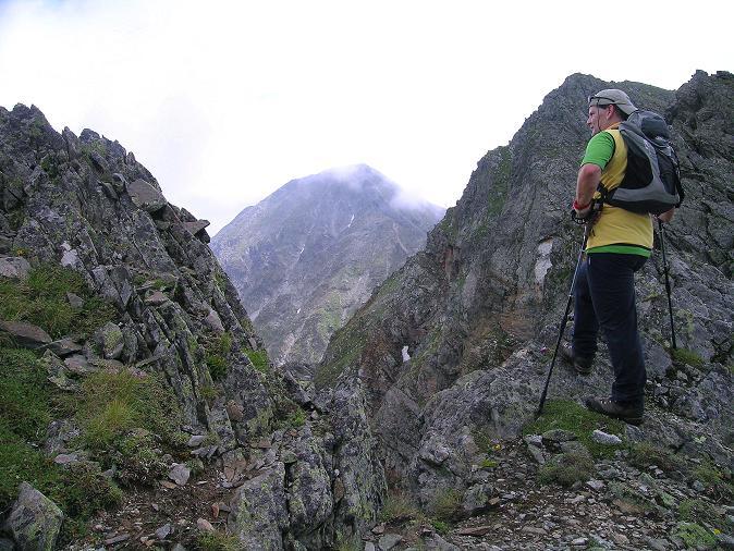 Foto: Andreas Koller / Wander Tour / Über den Gefrorenen See zum Dreistecken-Grat (2449 m) / 07.08.2009 16:43:31