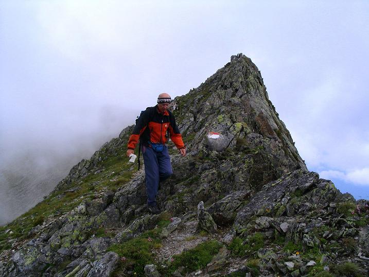 Foto: Andreas Koller / Wander Tour / Über den Gefrorenen See zum Dreistecken-Grat (2449 m) / 07.08.2009 16:43:22