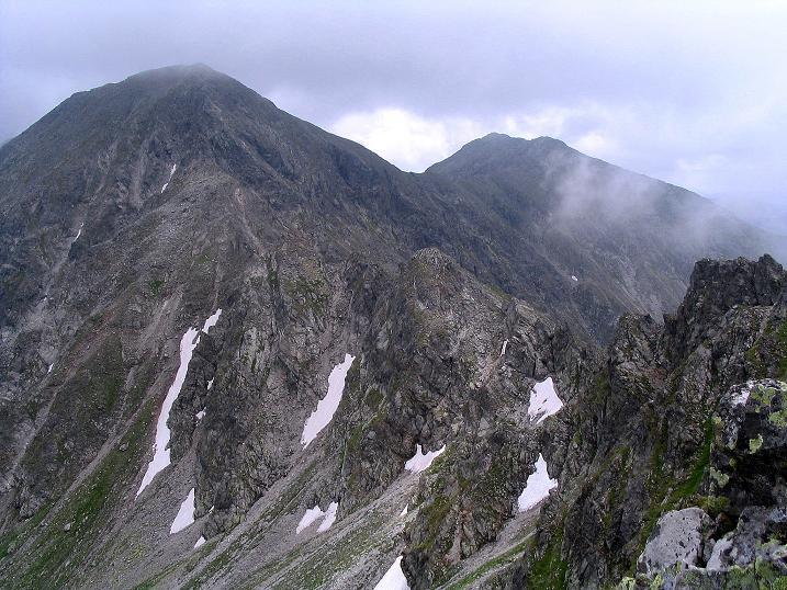 Foto: Andreas Koller / Wander Tour / Über den Gefrorenen See zum Dreistecken-Grat (2449 m) / 07.08.2009 16:43:14