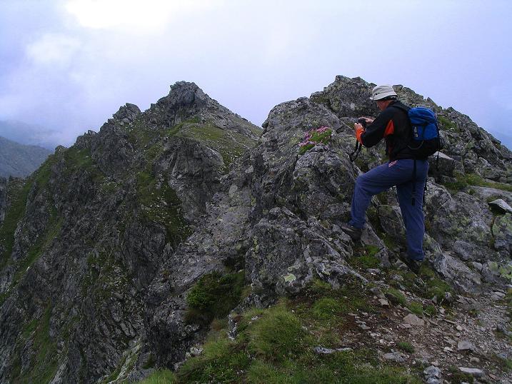 Foto: Andreas Koller / Wander Tour / Über den Gefrorenen See zum Dreistecken-Grat (2449 m) / 07.08.2009 16:43:05