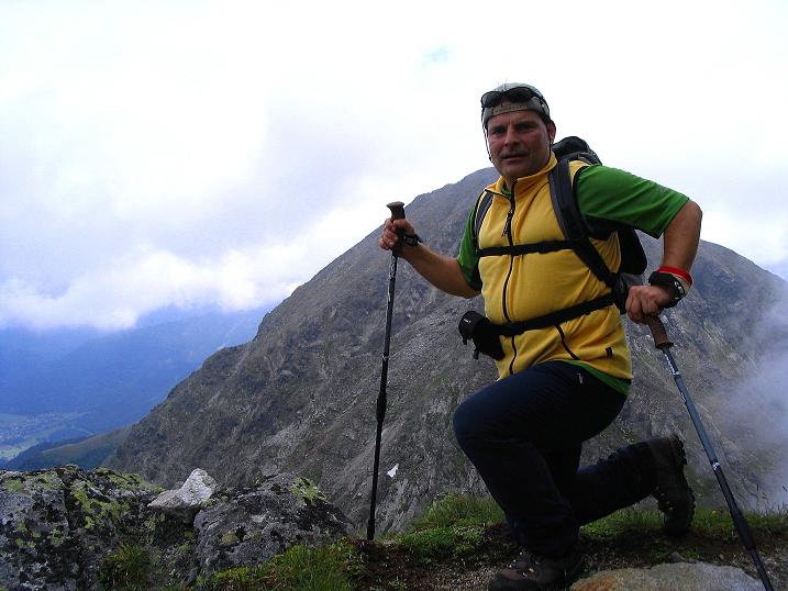 Foto: Andreas Koller / Wander Tour / Über den Gefrorenen See zum Dreistecken-Grat (2449 m) / 07.08.2009 16:42:35