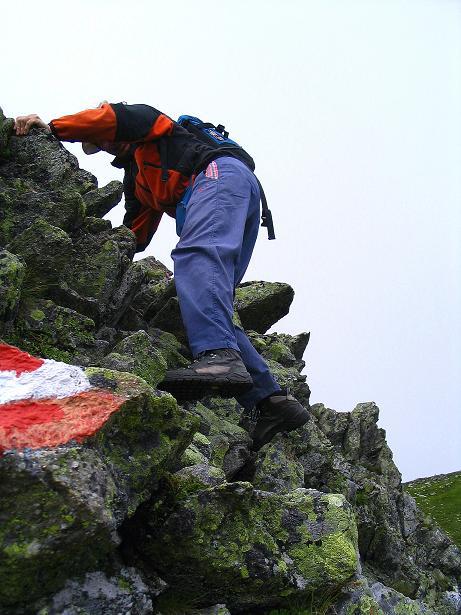 Foto: Andreas Koller / Wander Tour / Über den Gefrorenen See zum Dreistecken-Grat (2449 m) / 07.08.2009 16:42:22
