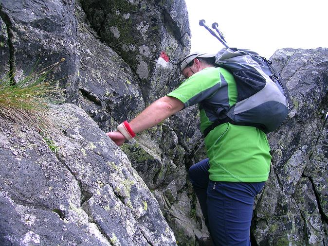 Foto: Andreas Koller / Wander Tour / Über den Gefrorenen See zum Dreistecken-Grat (2449 m) / 07.08.2009 16:41:57