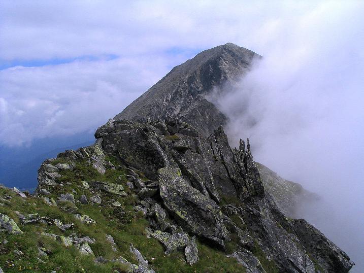 Foto: Andreas Koller / Wander Tour / Über den Gefrorenen See zum Dreistecken-Grat (2449 m) / Großer Bösenstein / 07.08.2009 16:41:37