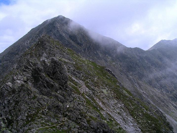 Foto: Andreas Koller / Wander Tour / Über den Gefrorenen See zum Dreistecken-Grat (2449 m) / 07.08.2009 16:41:21