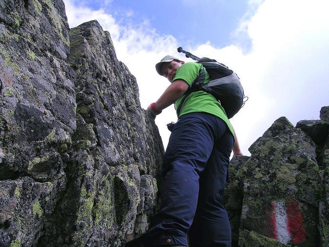 Foto: Andreas Koller / Wander Tour / Über den Gefrorenen See zum Dreistecken-Grat (2449 m) / 07.08.2009 16:41:12