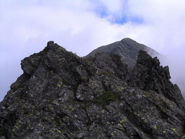 Foto: Andreas Koller / Wander Tour / Über den Gefrorenen See zum Dreistecken-Grat (2449 m) / 07.08.2009 16:41:02