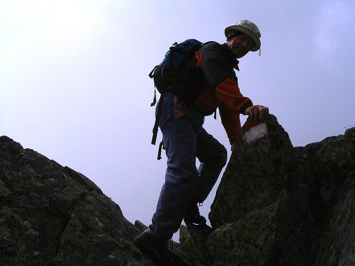 Foto: Andreas Koller / Wander Tour / Über den Gefrorenen See zum Dreistecken-Grat (2449 m) / 07.08.2009 16:40:53