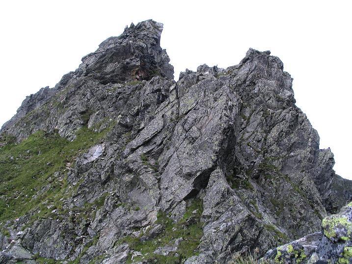 Foto: Andreas Koller / Wander Tour / Über den Gefrorenen See zum Dreistecken-Grat (2449 m) / 07.08.2009 16:40:42
