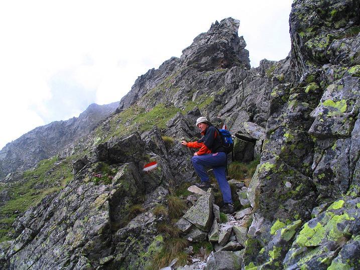 Foto: Andreas Koller / Wander Tour / Über den Gefrorenen See zum Dreistecken-Grat (2449 m) / 07.08.2009 16:40:24
