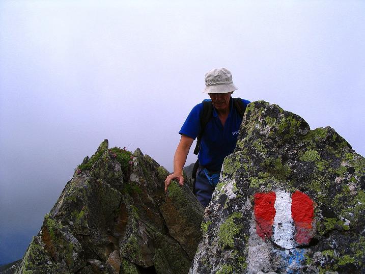 Foto: Andreas Koller / Wander Tour / Über den Gefrorenen See zum Dreistecken-Grat (2449 m) / Luftig / 07.08.2009 16:39:31