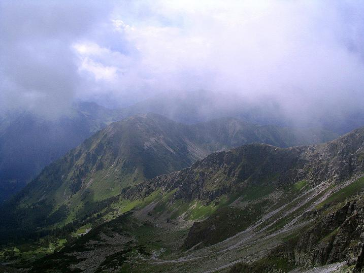 Foto: Andreas Koller / Wander Tour / Über den Gefrorenen See zum Dreistecken-Grat (2449 m) / 07.08.2009 16:38:45