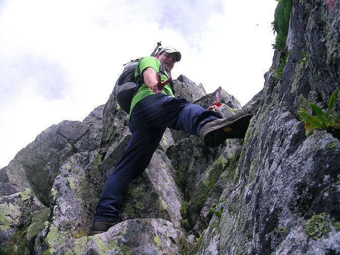 Foto: Andreas Koller / Wander Tour / Über den Gefrorenen See zum Dreistecken-Grat (2449 m) / 07.08.2009 16:38:36