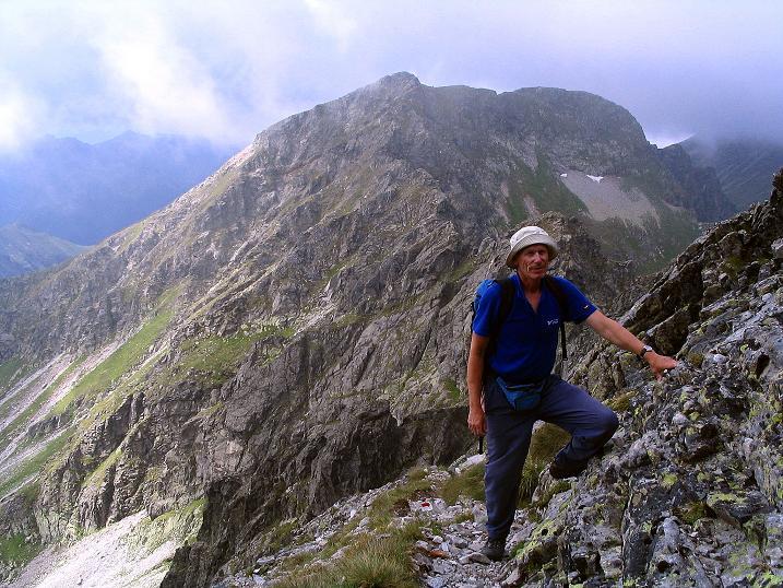 Foto: Andreas Koller / Wander Tour / Über den Gefrorenen See zum Dreistecken-Grat (2449 m) / 07.08.2009 16:37:58