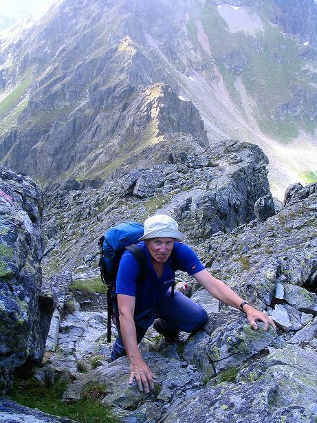 Foto: Andreas Koller / Wander Tour / Über den Gefrorenen See zum Dreistecken-Grat (2449 m) / 07.08.2009 16:37:27