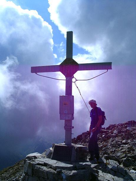 Foto: Andreas Koller / Wander Tour / Über den Gefrorenen See zum Dreistecken-Grat (2449 m) / 07.08.2009 16:36:06
