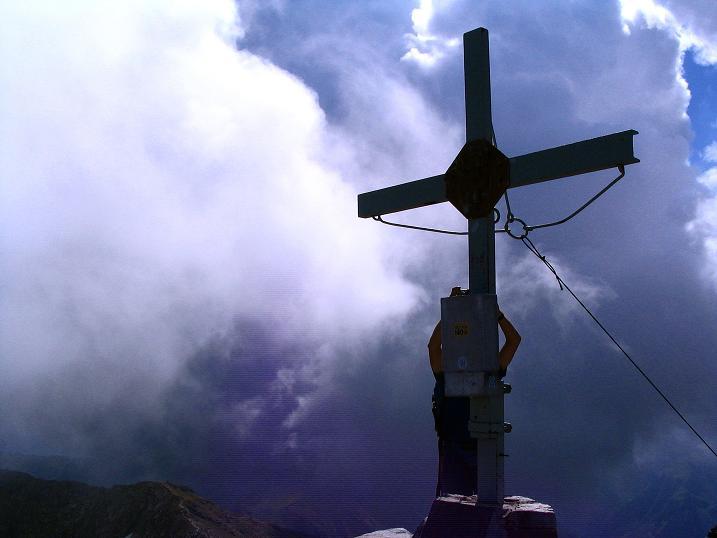 Foto: Andreas Koller / Wander Tour / Über den Gefrorenen See zum Dreistecken-Grat (2449 m) / 07.08.2009 16:35:53