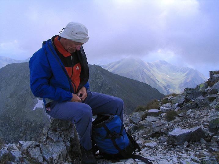 Foto: Andreas Koller / Wander Tour / Über den Gefrorenen See zum Dreistecken-Grat (2449 m) / 07.08.2009 16:35:22