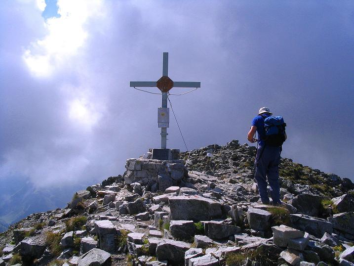 Foto: Andreas Koller / Wander Tour / Über den Gefrorenen See zum Dreistecken-Grat (2449 m) / 07.08.2009 16:35:09