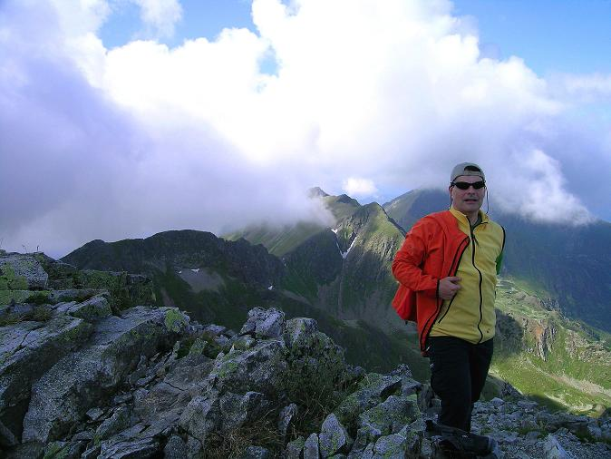 Foto: Andreas Koller / Wander Tour / Über den Gefrorenen See zum Dreistecken-Grat (2449 m) / 07.08.2009 16:34:50
