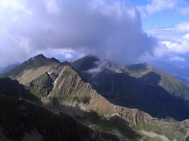 Foto: Andreas Koller / Wander Tour / Über den Gefrorenen See zum Dreistecken-Grat (2449 m) / 07.08.2009 16:34:33