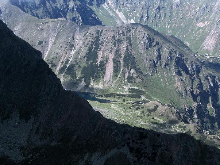Foto: Andreas Koller / Wander Tour / Über den Gefrorenen See zum Dreistecken-Grat (2449 m) / 07.08.2009 16:34:24