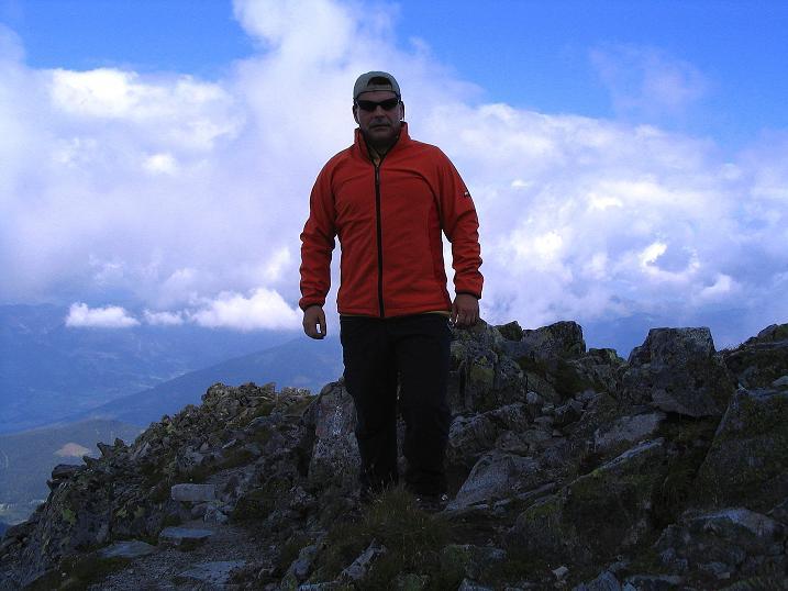 Foto: Andreas Koller / Wander Tour / Über den Gefrorenen See zum Dreistecken-Grat (2449 m) / 07.08.2009 16:33:06