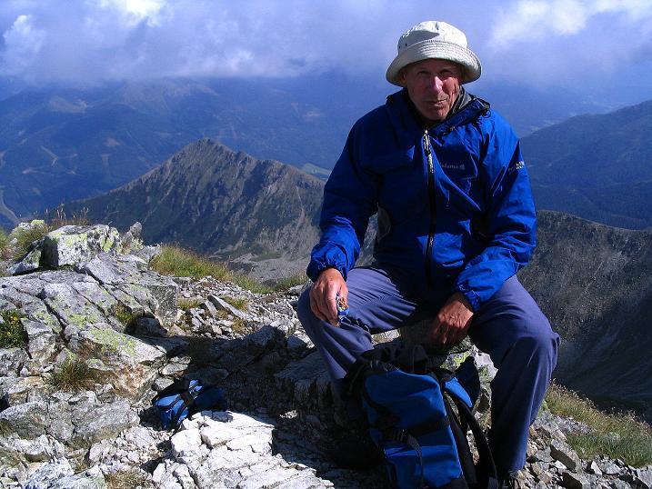 Foto: Andreas Koller / Wander Tour / Über den Gefrorenen See zum Dreistecken-Grat (2449 m) / 07.08.2009 16:32:34