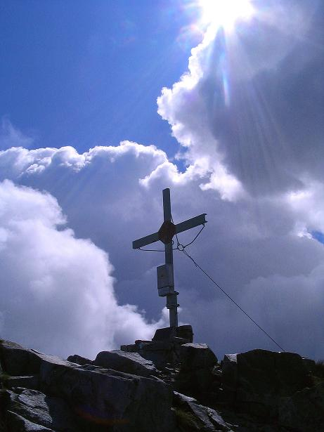 Foto: Andreas Koller / Wander Tour / Über den Gefrorenen See zum Dreistecken-Grat (2449 m) / 07.08.2009 16:32:13