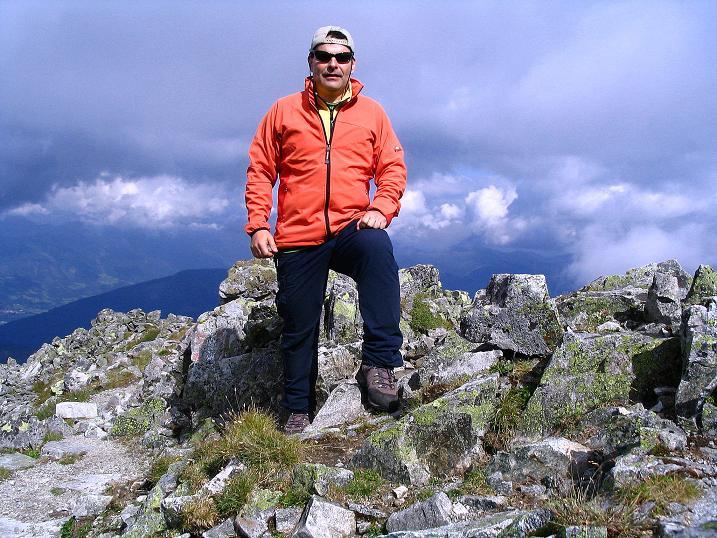 Foto: Andreas Koller / Wander Tour / Über den Gefrorenen See zum Dreistecken-Grat (2449 m) / 07.08.2009 16:32:02