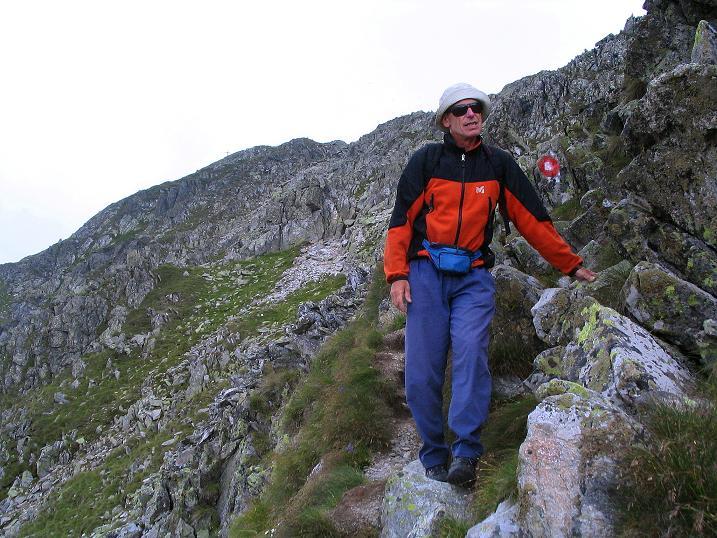 Foto: Andreas Koller / Wander Tour / Über den Gefrorenen See zum Dreistecken-Grat (2449 m) / 07.08.2009 16:30:54