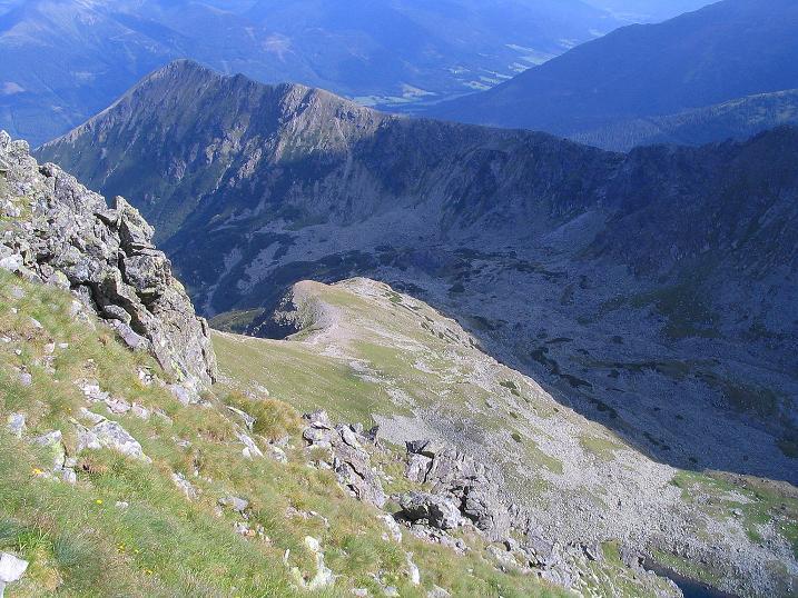 Foto: Andreas Koller / Wander Tour / Über den Gefrorenen See zum Dreistecken-Grat (2449 m) / 07.08.2009 16:30:37