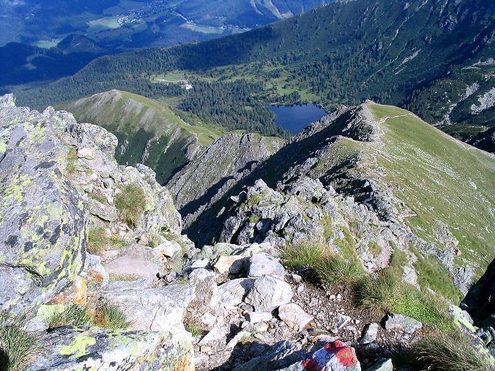 Foto: Andreas Koller / Wander Tour / Über den Gefrorenen See zum Dreistecken-Grat (2449 m) / 07.08.2009 16:30:27